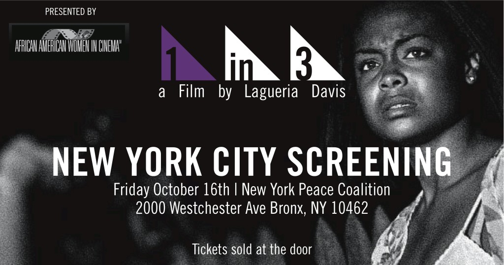 1 in 3 NYC screening info